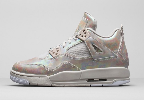 Girls Air Jordan 4 Retro 'Pearl'2