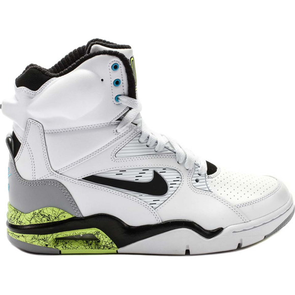 release date a92ee ac6aa Nike Air Command Force - On Sale for 25-40 Off 1 White Black-Wolf Grey-Volt  available HERE