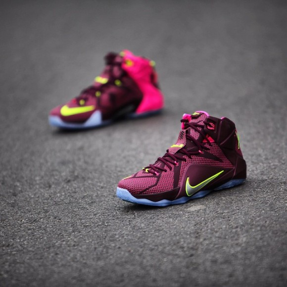online store 2dee2 16def ... Nike LeBron 12  Double Helix  - Detailed Images + Release ...