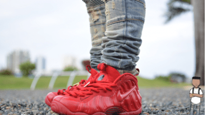 """2dcc9398998 More Photos Of Nike Foamposite """"Gym Red"""""""