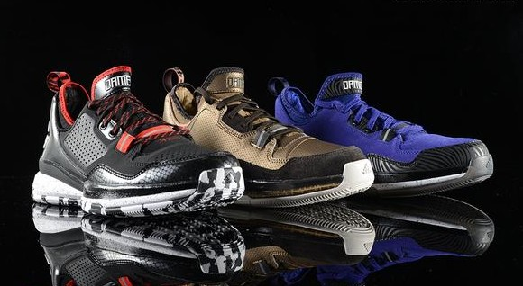 huge discount 570f1 2a7ae adidas D Lillard 1 - Three Colorways Available Now