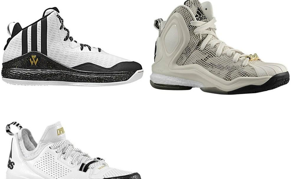 best website 11110 53023 adidas All-Star Pack (J Wall 1, D Lillard 1, D Rose 5 Boost