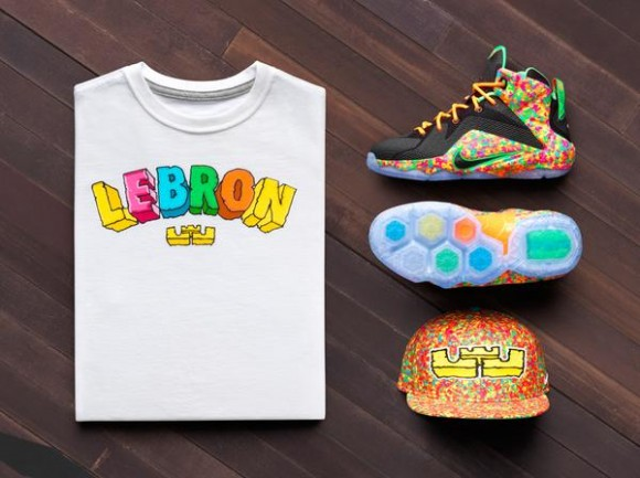 aa28cf036f15 Kid s Nike LeBron 12  Fruity Pebbles  1 - WearTesters
