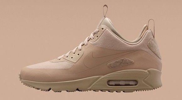 buy popular 70efe 3b6e4 Nike Air Max 90 SneakerBoot Patch Pack Sand