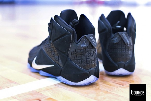 innovative design d7714 0c293 ... Nike LeBron 12 EXT  Rubber City  - Detailed ...