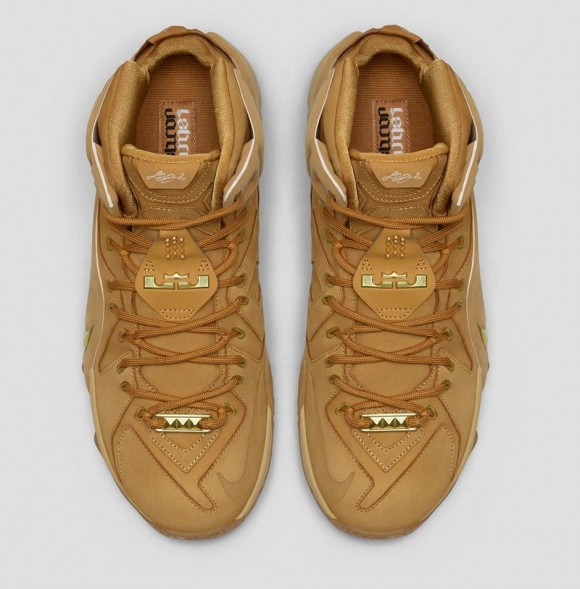 6edb1ab54f62b Nike LeBron 12 EXT  Wheat  - Available Now - WearTesters
