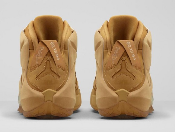 finest selection 57566 0f4a6 nike lebron 12 ext wheat on feet and toes