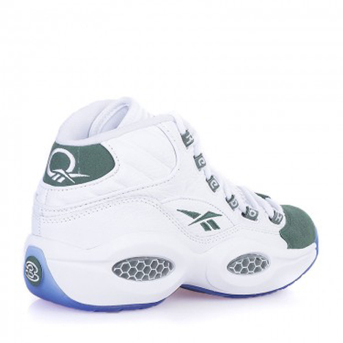 c84b6a73c54 Reebok Question Mid White Green - Available Now 2 - WearTesters