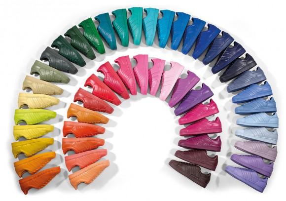 5e94df3d83c2 Pharrell x adidas Originals Superstar  Supercolor  Pack - Available ...