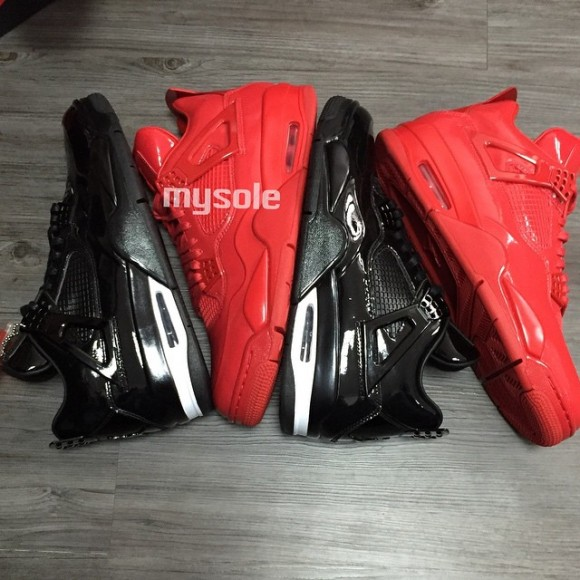 All-Red Air Jordan 11Lab4 Retro 2