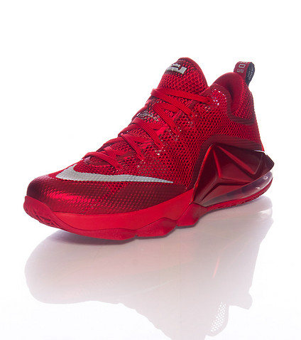 pretty nice 01912 585af Nike LeBron 12 Low  All-Red  - Available Now Below Retail - WearTesters