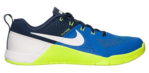 20ea561b1a8 Nike MetCon 1 Trainer - game royal midnight blue white lime green ...