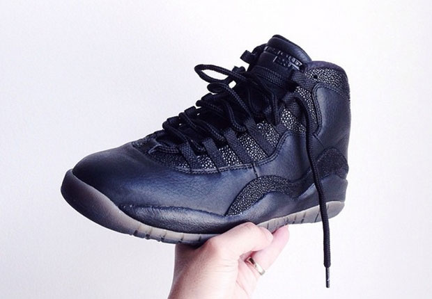 34b910876f85 The OVO x Air Jordan 10 Released Yesterday Without Notice - WearTesters