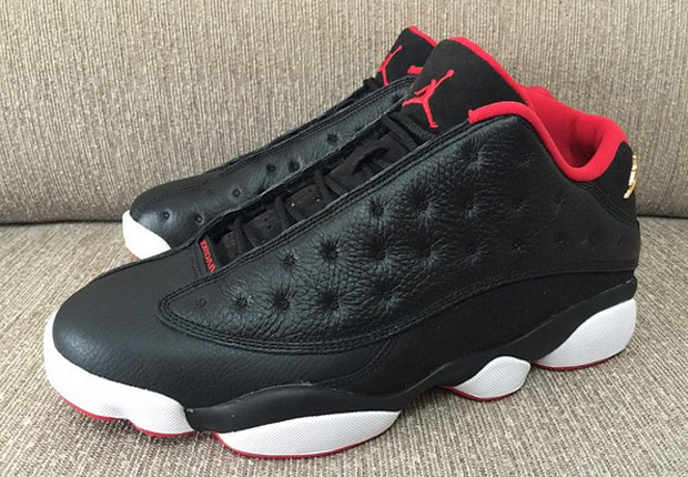 Air Jordan 13 Low Black Red - Another Look - WearTesters c55cd2a7a969