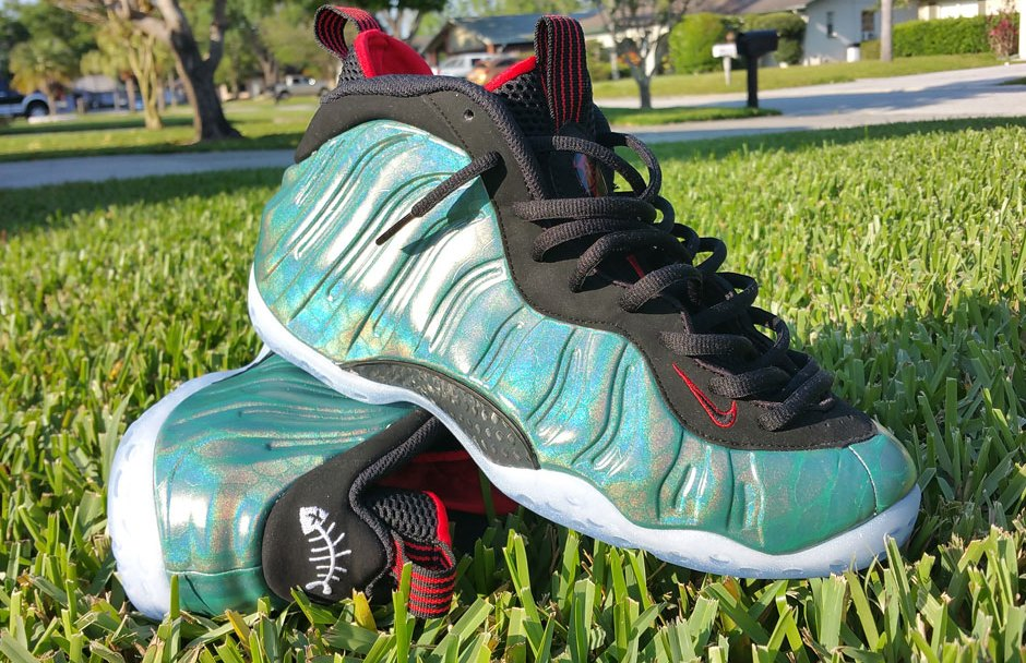 875e198492cfd Nike Foamposite One  Gone Fishing  - New Images - WearTesters