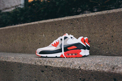 new product 0b0f2 19cb0 Release Info for the 2015 Nike Air Max 90  Infrared  - WearTesters