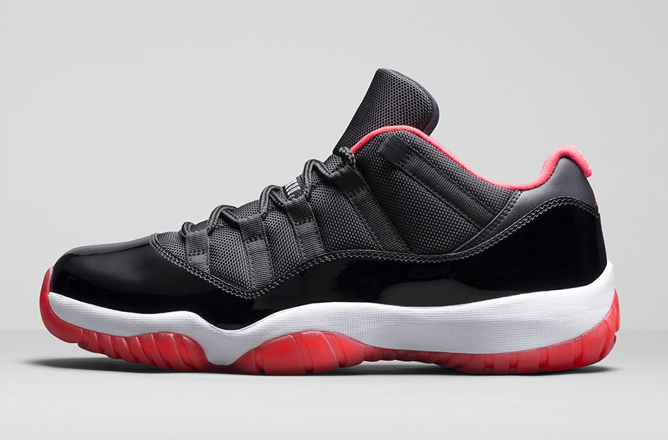 brand new ce40a 85db0 Air Jordan 11 Retro Low Black  Red - Official Look + Release Info 2 ...