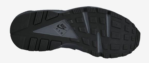 new concept 779c0 6819f ... Nike Air Huarache  Triple Black  bottoms outsole