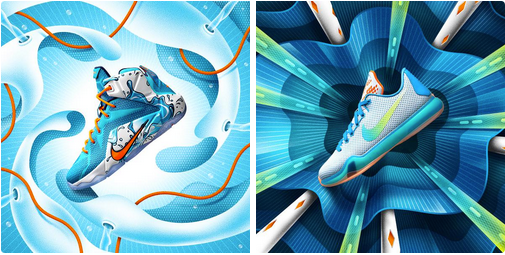 buy online 9672a 287ec Nike Basketball Summer Time Pack (LeBron 12   Kobe X) - Available ...