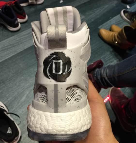 adidas D Rose 6 Boost heel