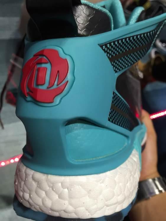 adidas D Rose 6 Boost heel red