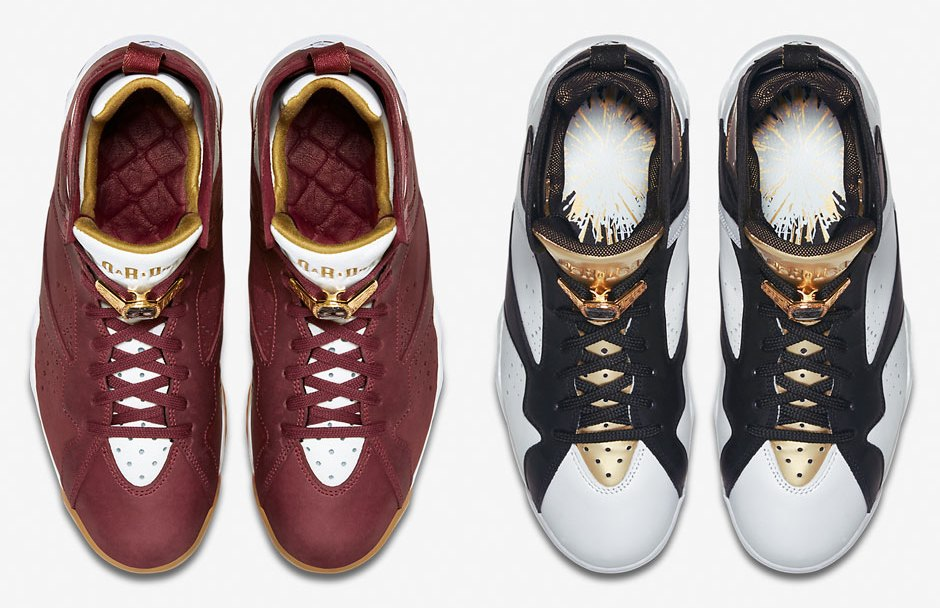 timeless design 31cba 0c475 Air Jordan 7  Championship Pack  - Official Images - WearTesters