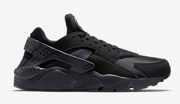 30291d272bf5 Nike Air Huarache  Triple Black  - Restocked - WearTesters
