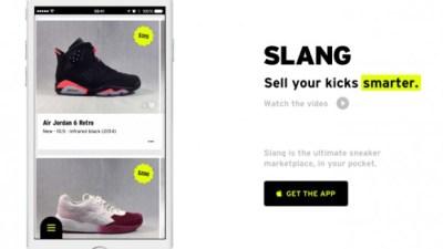 5bfab1140443e1 Sneaker Marketplace App Slang Pulls the Plug