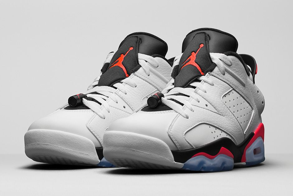 official photos 15b53 f8186 Air Jordan 6 Retro Low  Infrared  - Official Look + Release ...