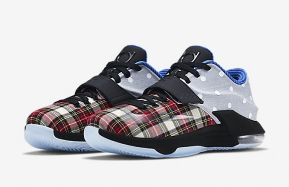 info for 17aa3 3298d Nike KD 7 EXT CNVS QS  Plaid Polka Dot  - Available Now - WearTesters