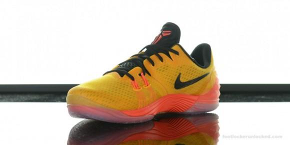 low priced 60dbb b2a5b ... Nike Zoom Kobe Venomenon 5  University Gold  Arriving at Retailers ...