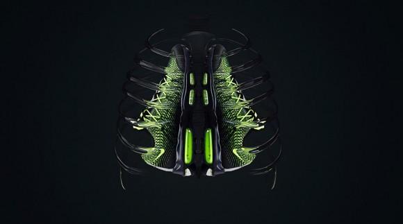 Nike Air Max Hyper Aggressor Olympic Black Volt Dark Grey