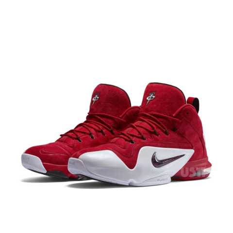 official photos dc95e 0dd83 Get A Detailed Look At The Nike Zoom Penny VI (6)  University Red