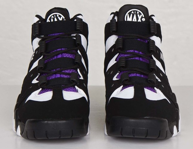 separation shoes 577f5 020c7 Nike Air Max2 CB  94 OG Black White Pure Purple front view