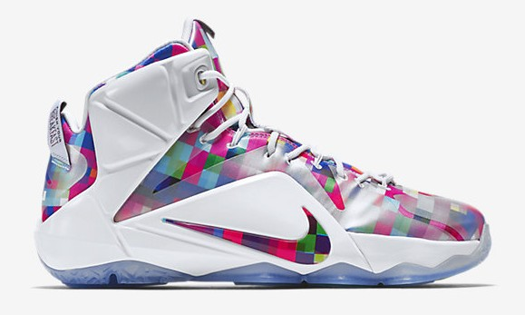 Nike LeBron 12 EXT Finish Your Breakfast Fruity Pebbles lateral