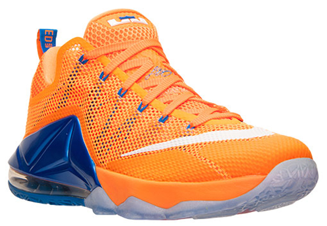 17f346da5a22 Mets and Knicks Fans Will Love This Nike LeBron 12 Low - WearTesters