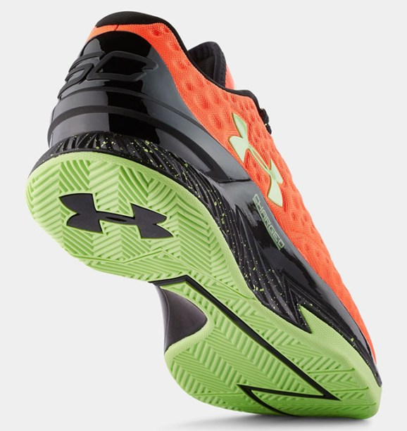 Under Armour Curry One Bolt Orange outsole bottoms traction
