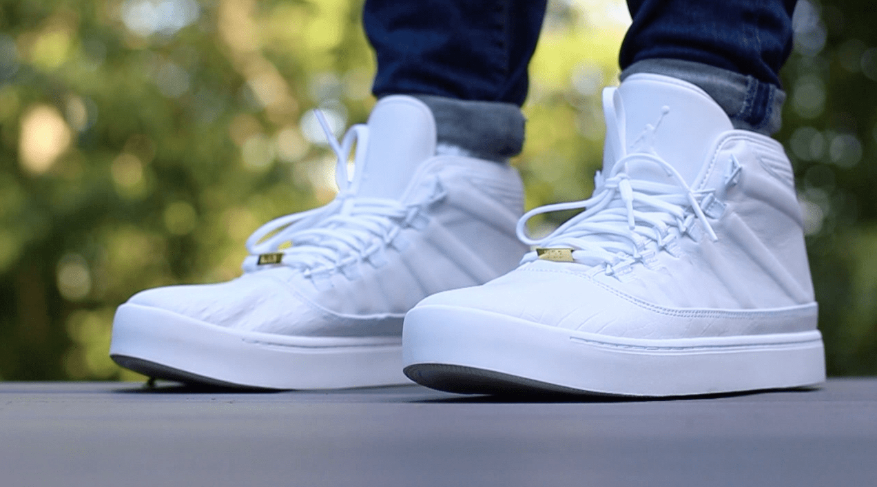 f79e6812339e Air Jordan Westbrook Zero  Whiteout  - Detailed Review + On Foot ...