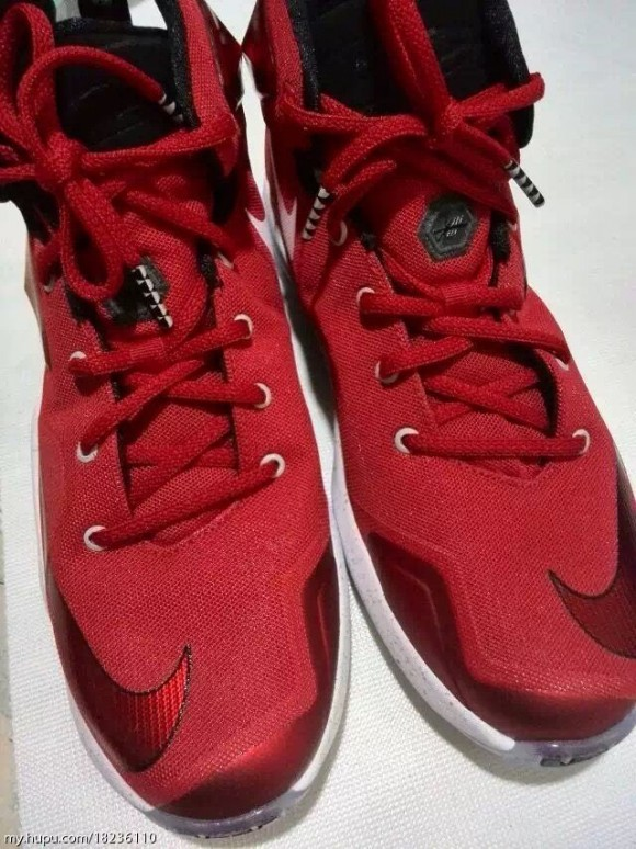Check out the Nike LeBron 13 in Red 4