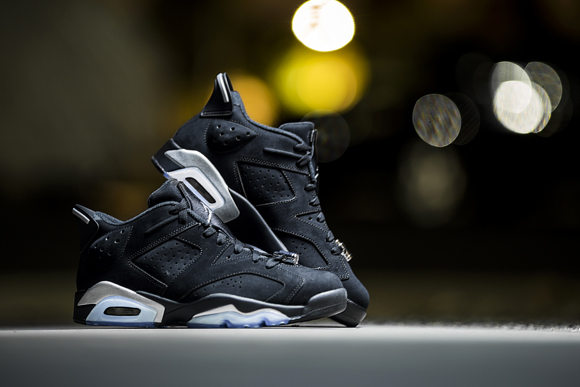 wholesale dealer 098fc 90f65 ... Get Up Close and Personal with the Air Jordan 6 Retro Low in Black  Chrome 4 ...