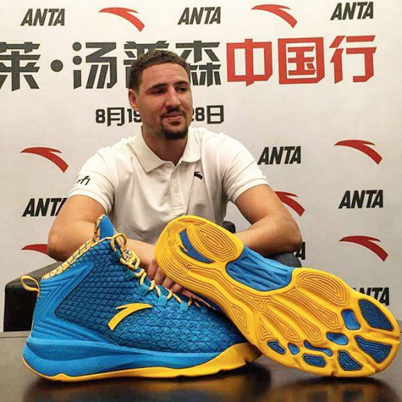 watch 1f26c 9a738 Get Your First Look at Klay Thompson s First Signature Model With ANTA-1.  Via ANTA