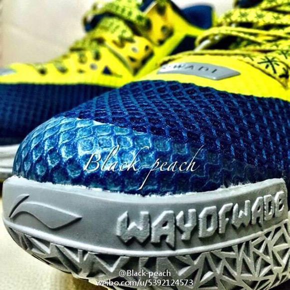Get a Detailed Look at the Li-Ning Way of Wade 4 in a Marquette Colorway 2