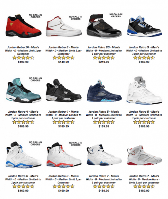 56d552a6336e Huge Jordan Retro Restock Coming to Eastbay-1 - WearTesters