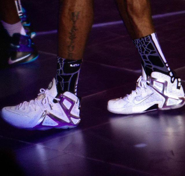 on sale a829e 7af2b Pigalle Goes Clean on Next Nike LeBron 12 Elite Collaboration ...