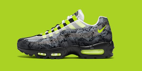 new concept 0e747 64147 Nike Air Max 95 iD Snakeskin Option