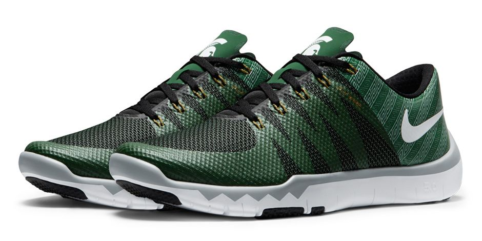 86275036a540 Rep Your College w  the Nike Free Trainer 5.0 V6  Week Zero ...