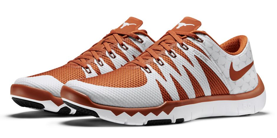 abcec08573bc3 Nike Free Trainer 5.0 V6  Week Zero  Texas Longhorns - WearTesters
