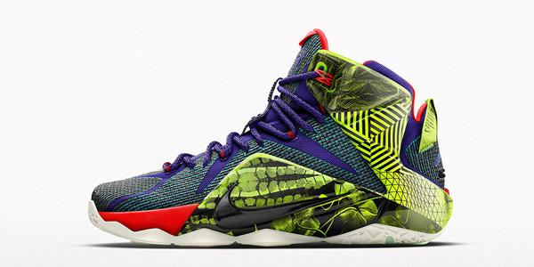 info for 106f1 b81e6 The Nike LeBron 12 iD Now Comes With an  Unlocked  Pattern - WearTesters