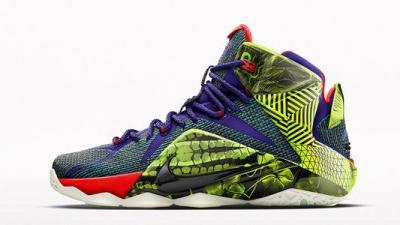 c1ac705ac58b The Nike LeBron 12 iD Now Comes With an  Unlocked  Pattern
