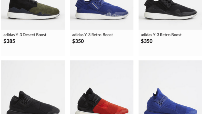 948c4505a Lifestyle Deals  adidas Y-3 Models For 25% Off